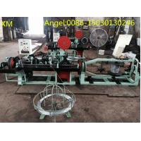 Quality Double stranded Twisted full automatic  Barbed Wire mesh making  Machine for sale