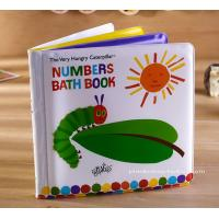 Quality Education Soft EVA children's Bath Books Early Number Learning for sale