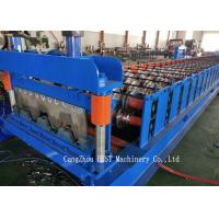 Quality Automatic Steel Sheet Roll Forming Machine 1250 Mm Max. Width With GI Material for sale