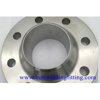 Buy Pipeline Connection Forged Steel Welding Neck Flange 4'' S40 F304H Class300 at wholesale prices