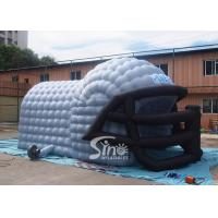 China Commercial grade giant baseball inflatable helmet tunnel tent for sales from Sino Inflatables on sale