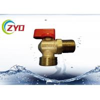 China M1 2 M3 4 Nickel Plated Plumbing Angle Valve, Level Side Handle Brass Water Valve on sale