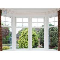 Quality Aluminium Single Hung Window / Vertical Sliding Windows With Top Brand Hardware for sale