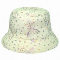 Buy cheap Children Bucket Hat, Made of Cotton Material, with Beautiful Style from wholesalers