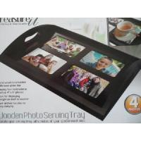 Quality Multifunctional Wooden Photo Service Tray/Wooden Tray/Wooden Frame (WD00001) for sale