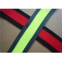 Quality Custom Embroidered Woven Jacquard Ribbon for Bags , Garment , Home Textile for sale