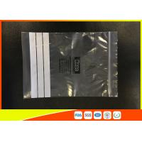 Quality Customized Polyethylene Industrial Ziplock Bags , PE Zip Bags With Great Clarity for sale