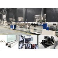 China TPU PVC Rubber Flexible Sealing Strip Extrusion Making Machine For Door And Window on sale