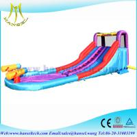 Quality Hanselgmif-04 bouncy inflatable castle,large inflatable pools,water slides for sale