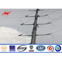 China Electrical Steel Power Pole For 69 Kv Low Voltage Transmission Line on sale