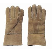 Quality Superior quality warm sheepskin leather gloves for men for sale