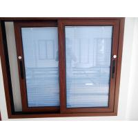 Quality Aluminum Window with Blind (WJ-ALU003) for sale