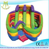 Quality Hansel 2015 inflatable obstacle on land, inflatable colorful obstacle for sale