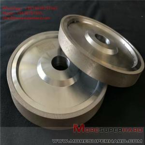 Quality Carbide processing by metal bond diamond grinding wheel Alisa@moresuperhard.com for sale