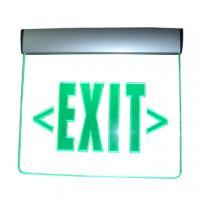 Quality Led edge lit emergency exit sign for sale