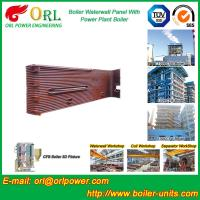 Quality Gas Steam Industrial Power 300MW Station Boiler Water Walls for Condensing Boiler for sale