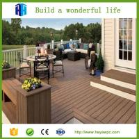 Quality HEYA waterproof wpc outdoor decking board prices list Chinese supplier for sale