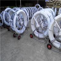 Quality Fiberglassductrodderwith wheels ,Snakerodderwith wheels for sale