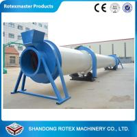 Feed Dryer / Rotary Drum Dryer Animal Feed Pellet Making Drying machine for sale