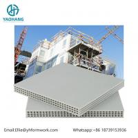 Quality High Quality PP Hollow Plastic Formwork 12mm white color for sale