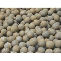 Quality Cr15 Mining Forged Steel Balls Grinding Media With More Than HRC60 Hardness for sale