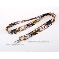 Buy cheap Double Sides Dye Sublimation Soft Printed ID Neck Lanyard, Holiday ID Lanyard from wholesalers