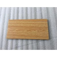Quality Wooden Colors Aluminum Sandwich Panel , High Strength Aluminum Laminated Panels  for sale