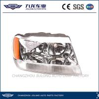 Quality JOLUNG Jeep Car Accessories Head Lamp for Grand Cherokee OEM 55155576AG/55155577AG for sale