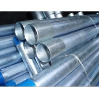 """Quality Carbon / Stainless Steel GI Galvanized Seamless Steel Pipe 20"""" 30"""" , Hot Dipped Galvanized Tubes for sale"""