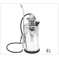 High Pressure Stainless Knapsack Sprayer With Adjustable Brass Nozzle 6L