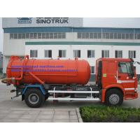 Quality 17CBM LHD 336HP Transporting Sewage Septic Tank Cleaning Truck / Septic Pumping Truck Sinotruk howo7 for sale