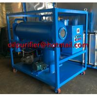 Quality Horizontal Vacuum Dielectric Oil Purifier, SIngle Stage Vacuum Transformer Oil Purifier, Oil Purification plant supplier for sale