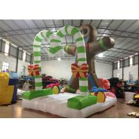 Quality Commercial Activities Inflatable Christmas Decorations Cookie 4 X 2.8 X 4.5m for sale