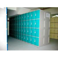Quality 10 Tier Beige Keylesscoin Operated Lockers , Mobile Phone Lockers For Factory for sale