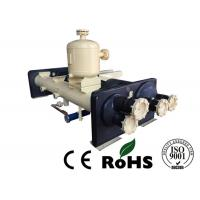China Water Chiller Unit Flooded type Evaporator Built - In Oil Separator on sale