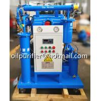Quality HOPU ZY Series Single Stage Vacuum Transformer Oil Purifier, remove gas, moisture, particles from used oil for sale