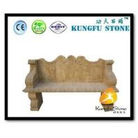 Quality Xiamen Kungfu Stone Ltd supply Natural Stone Bench For Garden In High quality and cheap price for sale