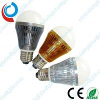 China Customized 3W Aluminum E27 LED Light Bulbs With Ultra - Thin Aluminum 1050 Heat Sinks on sale