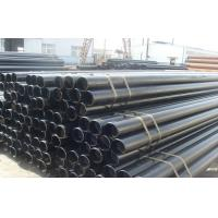Quality SCH40 Carbon Steel Round Hot Rolled Seamless Pipe ASTM A53 GR.B , CE SONCAP for sale