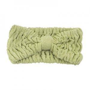Quality 22 x 8 cm Microfiber Hair Turban Bamboofiber Elastic Head Band Microfiber Terry Towel for sale