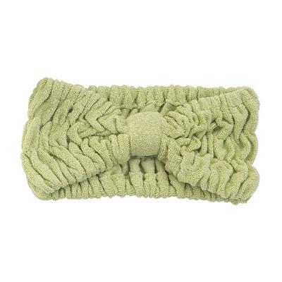 Buy 22 x 8 cm Microfiber Hair Turban Bamboofiber Elastic Head Band Microfiber Terry Towel at wholesale prices