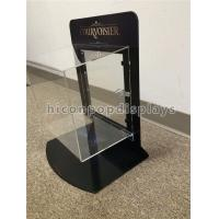 China Metal Acrylic Retail Accessories Display Countertop Jewelry Display Case With Lock on sale