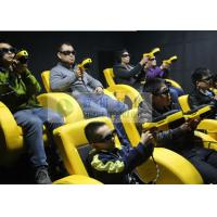 Quality Shopping Mall Mini 7D Movie Theater With Shooting Gun Game Interactive Cinema for sale