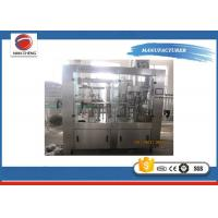 Buy Adjustable Speed Bottled Water Filling Machine , Mineral Water Bottling Machine Stainless Steel at wholesale prices