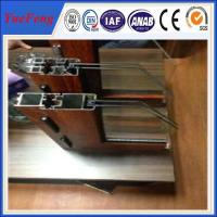 Quality Hot sell good quality bridge-broken thermal-break aluminium profile for Windows for sale