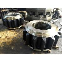 Quality AISI 4340(34CrNiMo6,1.6582,SAE 4340)Forged Forging Steel Sugar Mill Crown Pinion Gears for sale