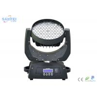 Quality LED Zoom Wash Beam Moving Head With Mutil - Functions Color Jump Change for sale
