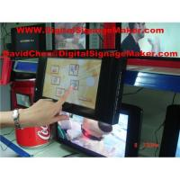 China 10' Touch screen  lcd digital advertising, digital signage on sale