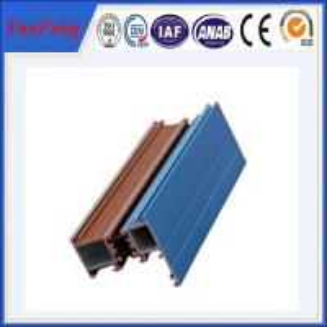 Quality powder coated aluminium profile price for sale