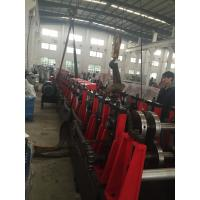 Quality 3MM Q195-235 C Purlin Roll Forming Machine With 18 Forming Roller Steel Construction Area for sale